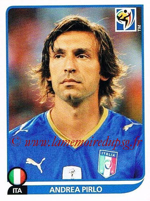 2010 - Panini FIFA World Cup South Africa Stickers - N° 422 - Andrea PIRLO (Italie)