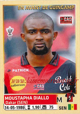 2014-15 - Panini Ligue 1 Stickers - N° 109 - Moustapha DIALLO (EA Guingamp)