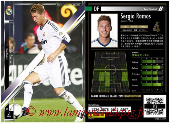Panini Football League 2013 - PFL01 - N° 058 - Sergio Ramos ( Real Madrid )