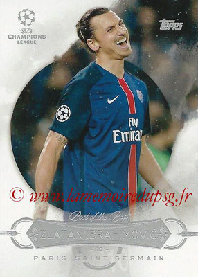 2015-16 - Topps UEFA Champions League Showcase Soccer - N° BB-ZI - Zlatan IBRAHIMOVIC (Paris Saint-Germain) (Best of the Best)