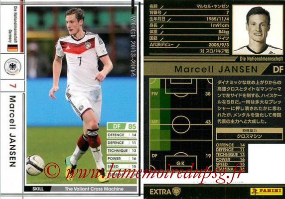 2013-14 - WCCF - N° EXT - Marcell JANSEN (Allemagne) (Extra)