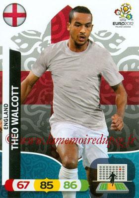Panini Euro 2012 Cards Adrenalyn XL - N° 055 - Theo WALCOTT (Angleterre)