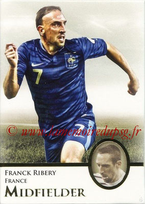 2013 - Futera World Football Unique - N° 052 - Franck RIBERY (France) (Midfielder)