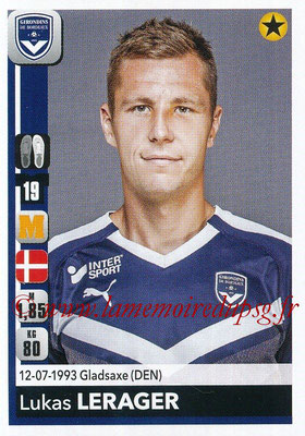 2018-19 - Panini Ligue 1 Stickers - N° 061 - Lukas LERAGER (Bordeaux)