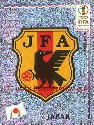 2002 - Panini FIFA World Cup Stickers - N° 532 - Logo Japon