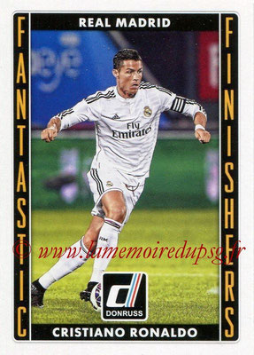 2015 - Panini Donruss Soccer - N° FF04 - Cristiano RONALDO (Real Madrid CF) (Fantastic Finishers)