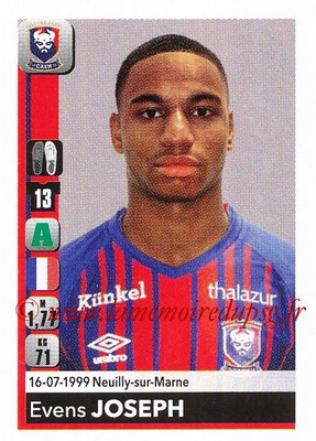 2018-19 - Panini Ligue 1 Stickers - N° T07 - Evens JOSEPH (Caen) (Transfert)