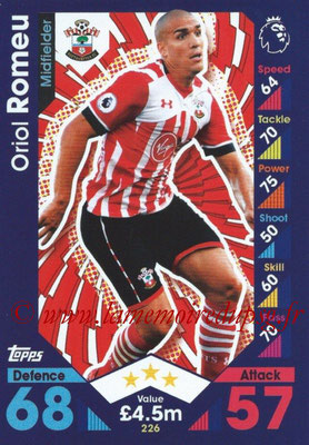 2016-17 - Topps Match Attax Premier League - N° 226