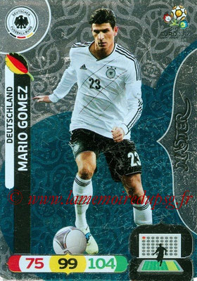 Panini Euro 2012 Cards Adrenalyn XL - N° 280 - Mario GOMEZ (Allemagne) (Master)