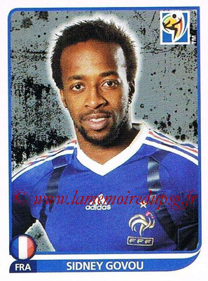 2010 - Panini FIFA World Cup South Africa Stickers - N° 101 - Sidney GOVOU (France)