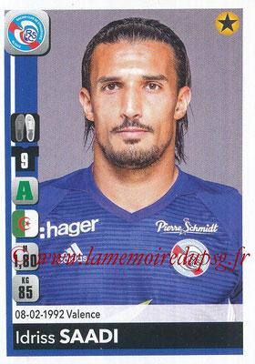 2018-19 - Panini Ligue 1 Stickers - N° 470 - Idriss SAADI (Strasbourg)