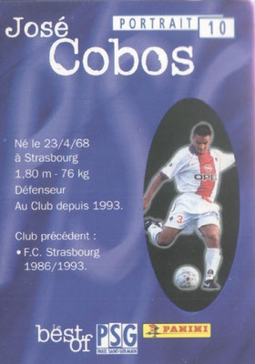 N° 010 - José COBOS (Verso)