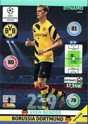 2014-15 - Adrenalyn XL champions League Update edition N° UE094 - Sven BENDER (Borussia Dortmund) (Dynamo)