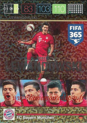 2015-16 - Panini Adrenalyn XL FIFA 365 - N° LE-RL3 - Robert LEWANDOWSKI (FC Bayern Munich) (Limited Edition)