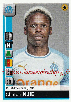 2018-19 - Panini Ligue 1 Stickers - N° 218 - Clinton NJIE (Marseille)