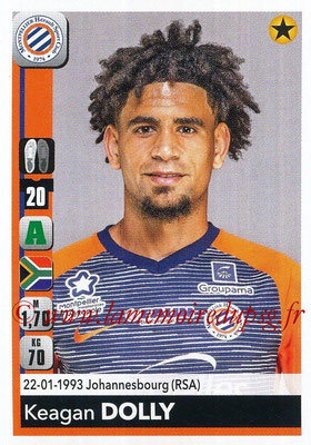 2018-19 - Panini Ligue 1 Stickers - N° 269 - Keagan DOLLY (Montpellier)