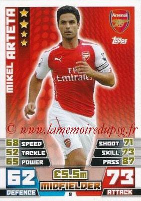N° 009 - Mikel ARTETA (Jan 2001-02, PSG > 2014-15, Arsenal, Ang)