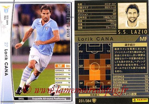 2012-13 - WCCF - N° 231 - Lorik CANA (SS Lazio)