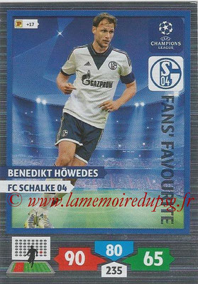2013-14 - Adrenalyn XL champions League N° 314 - Benedikt HOWEDES (FC Schalke 04) (Fans' Favourite)