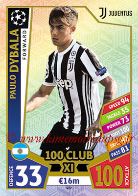 2017-18 - Topps UEFA Champions League Match Attax - N° 427 - Paulo DYBALA (Juventus) (UCL Club XI)