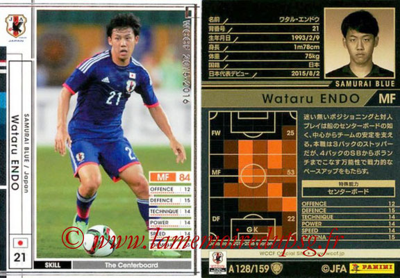 2015-16 - Panini WCCF - N° A128 - Wataru ENDO (Japon)
