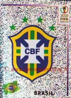 2002 - Panini FIFA World Cup Stickers - N° 170 - Logo Brésil