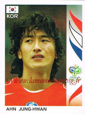 2006 - Panini FIFA World Cup Germany Stickers - N° 509 - Ahn JUNG-HWAN (Corée du Sud)