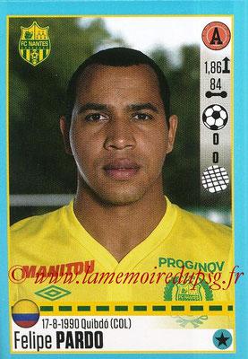 2016-17 - Panini Ligue 1 Stickers - N° T37 - Felipe PARDO (Nantes) (Set Transfert)