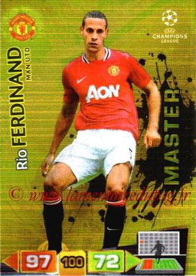 2011-12 - Panini Champions League Cards - N° 341 - Rio FERDINAND (Manchester United FC) (Master)