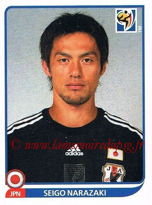 2010 - Panini FIFA World Cup South Africa Stickers - N° 375 - Seigo NARAZAKI (Japon)