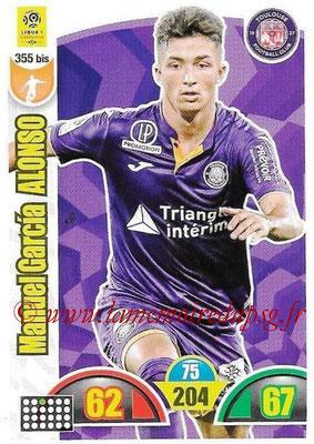 2018-19 - Panini Adrenalyn XL Ligue 1 - N° 355 bis - Manuel Garcia ALONSO (Toulouse)