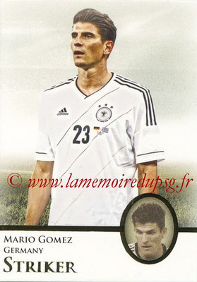 2013 - Futera World Football Unique - N° 077 - Mario GOMEZ (Allemagne) (Striker)