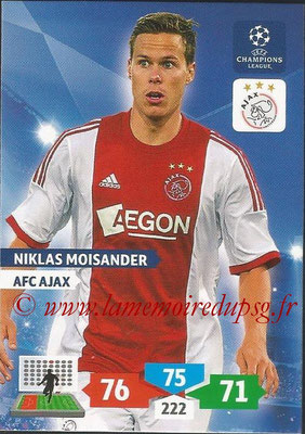 2013-14 - Adrenalyn XL champions League N° 031 - Niklas MOISANDER (AFC Ajax)