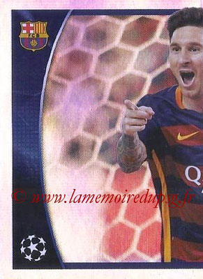2015-16 - Topps UEFA Champions League Stickers - N° 614 - Lionel Messi (puzzle 1) (UEFA Champions League Most Goals)