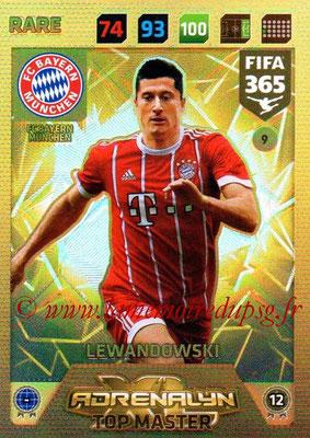 2017-18 - Panini FIFA 365 Cards - N° 009 - Robert LEWANDOWSKI (FC Bayern Munich) (Top Master)