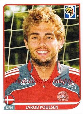 2010 - Panini FIFA World Cup South Africa Stickers - N° 364 - Jakob POULSEN (Danemark)