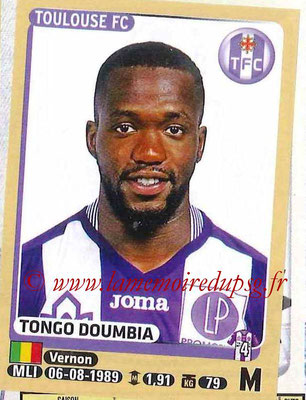 2015-16 - Panini Ligue 1 Stickers - N° 447 - Tongo DOUMBIA (Toulouse FC)site
