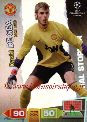 2011-12 - Panini Champions League Cards - N° 287 - David DE GEA (Manchester United FC) (Goal Stopper)