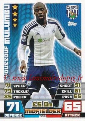N° 339 - Youssouf MULUMBU (2006-09, PSG > 2014-15, West Bromwich Albion, Ang)