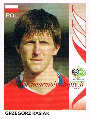 2006 - Panini FIFA World Cup Germany Stickers - N° 071 - Grzegorz RASIAK (Pologne)