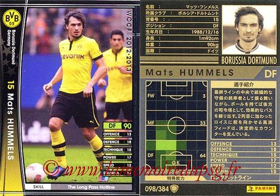2012-13 - WCCF - N° 098 - Mats HUMMELS (Borussia Dortmund)