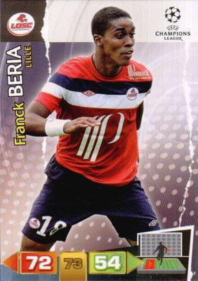 2011-12 - Panini Champions League Cards - N° 122 - Franck BERIA (Lille)