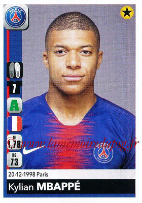 2018-19 - Panini Ligue 1 Stickers - N° 369 - Kylian MBAPPE (Paris Saint-Germain)