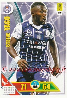 2017-18 - Panini Adrenalyn XL Ligue 1 - N° 339 - Steeve YAGO (Toulouse)