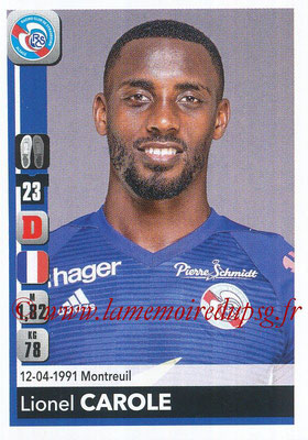 2018-19 - Panini Ligue 1 Stickers - N° 453 - Lionel CAROLE (Strasbourg)