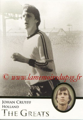 2013 - Futera World Football Unique - N° 107 - Johan CRUYFF (Pays Bas) (The Greats)