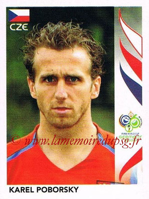 2006 - Panini FIFA World Cup Germany Stickers - N° 370 - karel POBORSKY (République Tchèque)