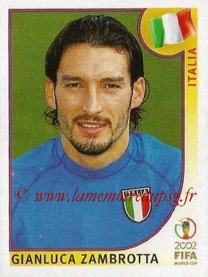 2002 - Panini FIFA World Cup Stickers - N° 465 - Gianluca ZAMBROTTA (Italie)