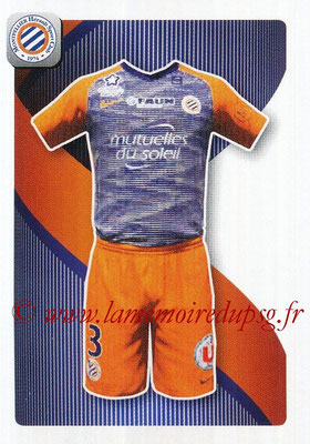 2018-19 - Panini Ligue 1 Stickers - N° 274 - Maillot Montpellier
