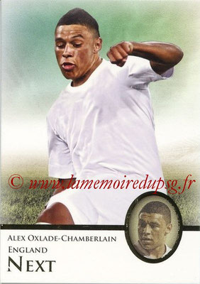 2013 - Futera World Football Unique - N° 096 - Alex OXLADE-CHAMBERLAIN (Angleterre) (Next)